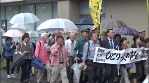 9条俳句応援団デモ